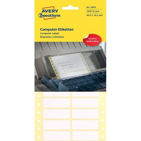 Etikete za matrične tiskalnike 40 x 14