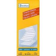Etikete za matrične tiskalnike 88,9 x 48,4 mm