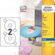 Etikete za CD, ClassicSize