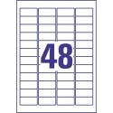 Etikete za pisma 47,7 x 21,2 mm