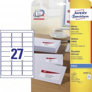 Etikete za pisma 63,5 x 29,6 mm