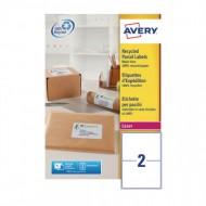 Reciklirane etikete za pakete 199,6 x 143,5 mm