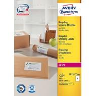 Reciklirane etikete za pakete 199,6 x 289,1 mm