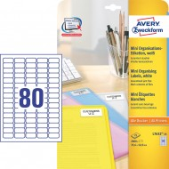 Mini etikete za označevanje 35,6 x 16,9 mm