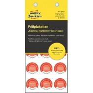 Kontrolne etikete za ročno pisanje, Ø 20 mm
