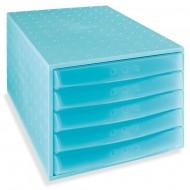 """Predalnik Multiform """"the Box"""", 5 predalov, enobarvni"""