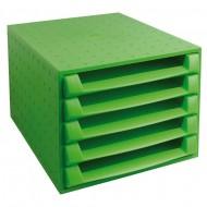 """Predalnik Multiform """"the Box"""" - 5 odprtih predalov"""