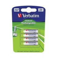 Baterije Verbatim AAA (LR03) – polnilne