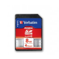 Pomnilniška kartica Verbatim SDHC 8GB Class 10