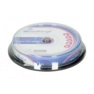 CD-R MEDIARANGE 700 MB 1/10 TORTICA