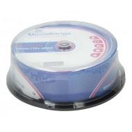 CD-R MEDIARANGE 700 MB 1/25 TORTICA