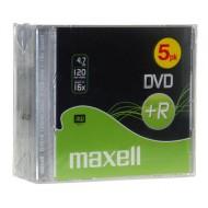 DVD+R Maxell pvc, 5/1