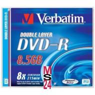 DVD-R Verbatim, dvoplastni, 1/1