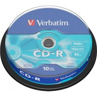 CD-R Verbatim, na osi 10/1