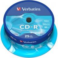 CD-R Verbatim, na osi 25/1