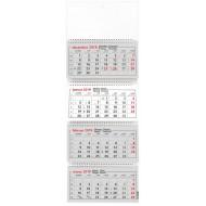 Stenski štiridelni koledar s špiralo, 2019