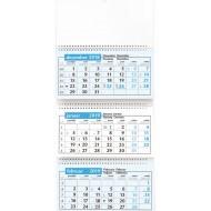 Stenski trimesečni koledar s špiralo, 2019
