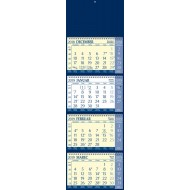 Štiridelni koledar s špiralo, 2019