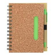 Notesnik Cork Eko A5 + kemični svinčnik