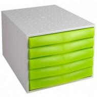 """Predalnik Multiform """"the Box"""", 5 predalov"""