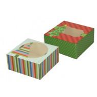 Škatla za piškote Xmas, kartonska