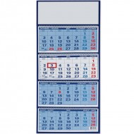 Štiridelni stenski koledar s špiralo 2020