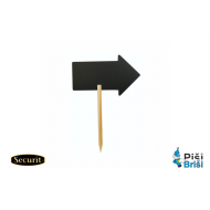 ČRNA TABLA - zapična Securit® Silhouette Stick - puščica