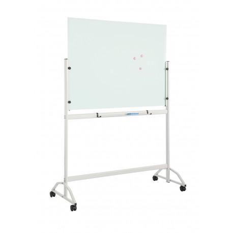 Steklena magnetna tabla mobilna topboard 90 X 120