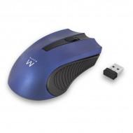 Miška Ewent Wireless Optical, 1000dpi, modra, USB