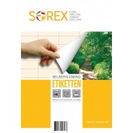 Etikete Sorex okrogle - Ø 30 mm, 100/1