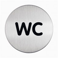 Piktogram: WC - Φ 83 mm