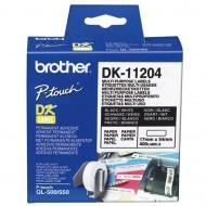 Nalepke za QL tiskalnike - večnamenske nalepke 17 x 54 mm