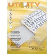 Etikete Utility 13858
