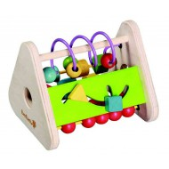 Lesena zabavna igra za urjenje motorike »trikotna« (art. 30934)