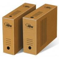 Arhivska škatla Forpus - A4/100 mm, natur