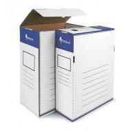 Arhivska škatla Forpus - A4/80, modro bela