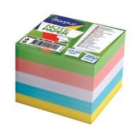 Vložni lističi za blok kocko Forpus, barvni, 85 x 85 mm