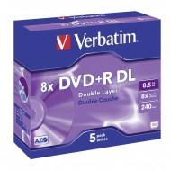 DVD+R Verbatim 8,5GB – dvoslojni – 5/1
