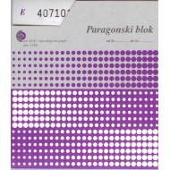 Paragonski blok A6 (obrazec 5320)