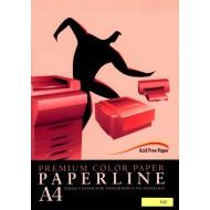 Fotokopirni papir Paperline A4, barvni - Rose