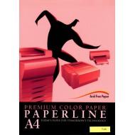 Fotokopirni papir Paperline A4, barvni - Pink