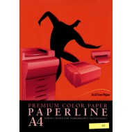 Fotokopirni papir Paperline A4, barvni - Red