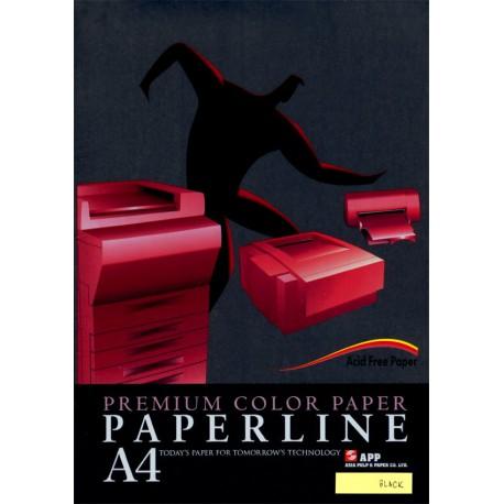 Fotokopirni papir Paperline A4, barvni - Black