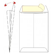 Kuverta vrečka A3 – 30 x 40 cm, bela, 100 g - 500/1