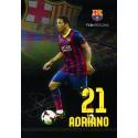 Zvezek z mehkimi platnicami A5 črte, FC Barcelona