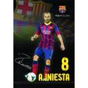 Zvezek z mehkimi platnicami A5 brez črt, FC Barcelona