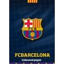 Kolaž papir FC Barcelona A4