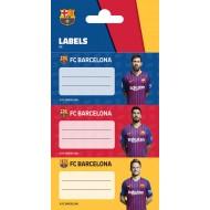 Etikete za zvezke FC Barcelona 61961A