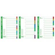 Ločilni listi PP 1-6, A4 barvni, FO20443