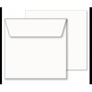 Kuverta 16,2 x 16,2 cm, bela 185 – 90 gr - 1/1